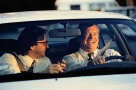 Carpooling SPONTANEO: due conoscenti che vanno al lavoro insieme