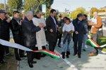 immagine inaugurazione rotatoria di Piazzale Sirtori a Marghera