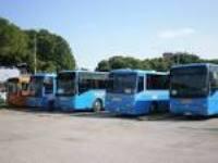 foto deposito bus extraurbani di Venezia
