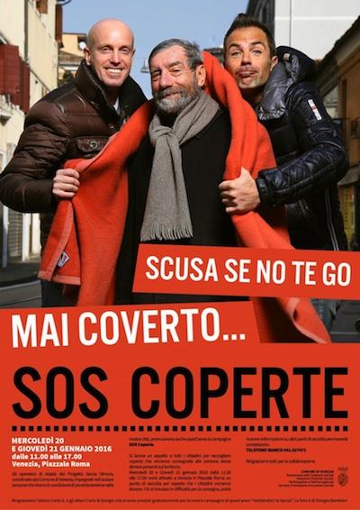 Il manifesto con Carlo e Giorgio