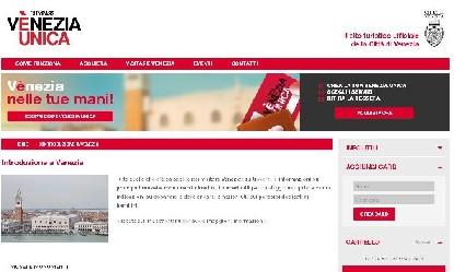 Venezia Unica portale ufficiale