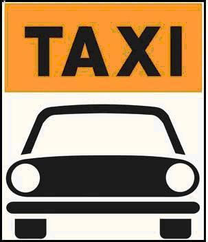 taxi con autovettura