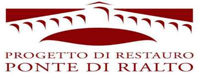 Logo progetto di restauro del ponte di Rialto