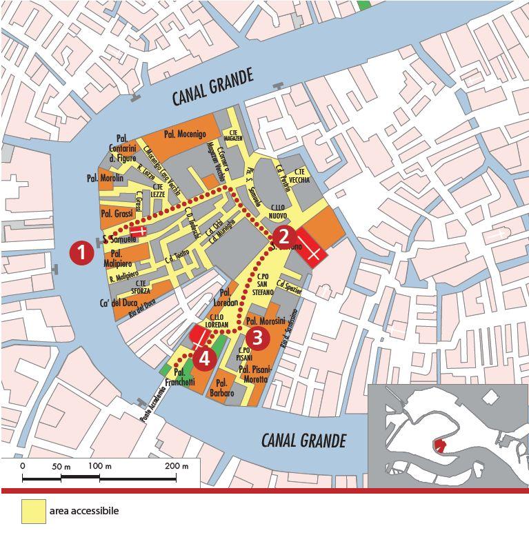 Mappa area S. Stefano