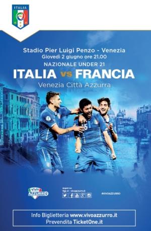 Locandina Italia Francia under 21
