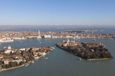 Veduta aerea del Bacino di San Marco - foto1