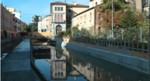 foto del cantiere in via Poerio a Mestre