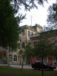 Vista della palazzina dell'Osservatorio Bioclimatologico dell'Ospedale al Mare del Lido di Venezia