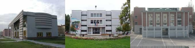 le sedi della Municipalità e la Biblioteca a Marghera