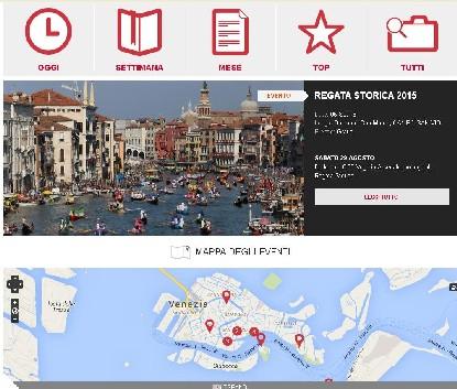 calendario degli eventi a Venezia Unica