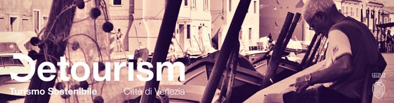 Logo Progetto Detourism Turismo Sostenibile Città di Venezia