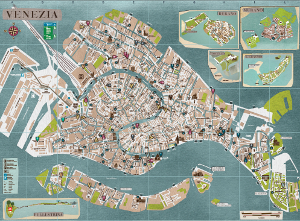 City Of Venice Venice Map Fuorirotta - Venice map image