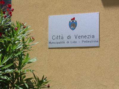 targa scritta municipalità