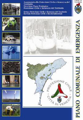 Copertina del Piano Comunale di Protezione Civile