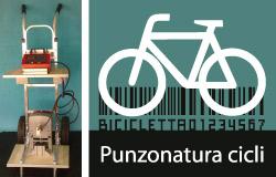 Punzonatore bici