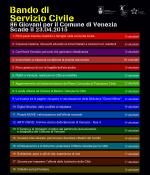 Locandina del Bando di Servizio Civile Nazionale 2015