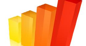 immagine stilizzata delle colonne di un grafico