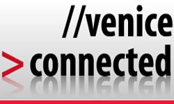 La pagina iniziale del sito di Venice Connected