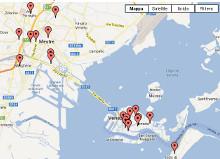 Collegamento alla mappa dei negozi aderenti