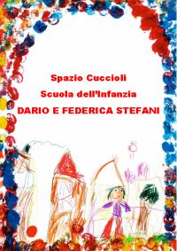 """logo asilo nido e scuola dell'infanzia """"Dario e Federica Stefani"""""""