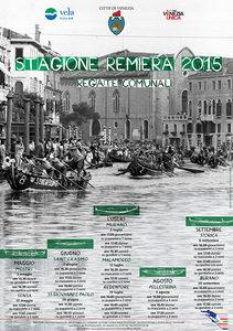 Manifesto Stagione Remiera 2015