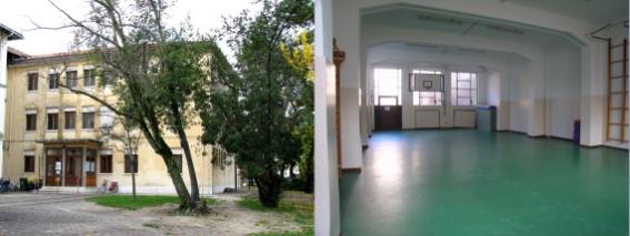 foto palestra scuola gabelli interno ed esterno