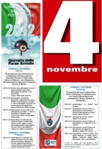 programma 4 novembre 2012
