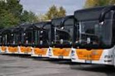 foto deposito bus Actv di Mestre