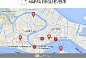 mappa degli eventi a Venezia
