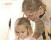 educatrice con bambino