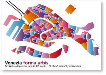 immagine della cartolina di Venezia