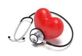 immagine cuore e stetoscopio