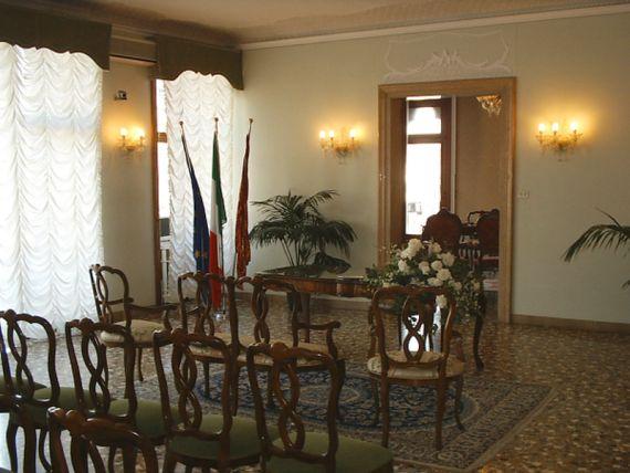 foto della sala matrimoni