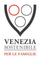 Logo Famiglie coppa nera con 2 cerchi neri e uno rosso