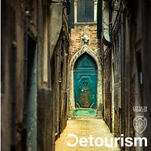 Logo Detourism Turismo Sostenibile Città di Venezia #calle #pannistesi #estate