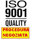 Logo del servizio di certificazione del sistema di gestione della qualità