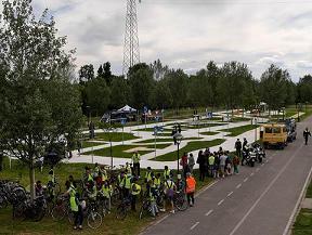 foto panoramica del circuito didattico