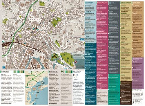 Mappa Fuorirotta 2014 Mestre
