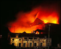 Incendio al Teatro La Fenice