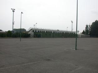 Campo calcio erba via Vendramin