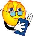 immagine di una faccia d'uomo con gli occhiali che legge un libro