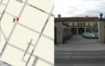 Via Cappuccina, 76 - Sede dell'Ufficio