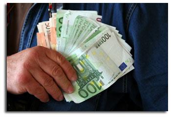 Banconote di vario taglio