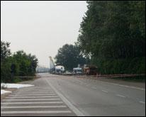 Incidente sul ponte della Libertà
