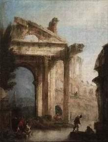 Canaletto, Capriccio architettonico