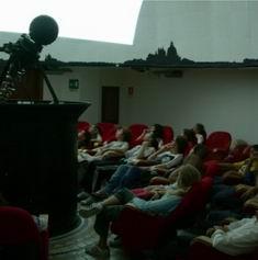 The interior of the Planetarium
