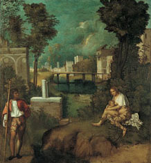 """La tempesta"" (""The Tempest""), by Giorgione"