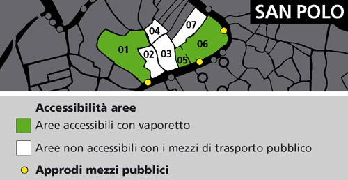 Mappa area San Polo