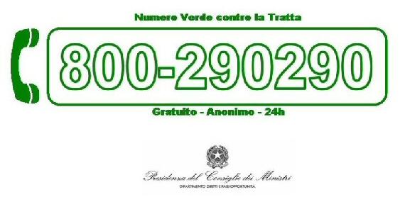 logo numero verde antitratta