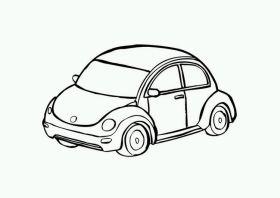 Disegno di un'automobile
